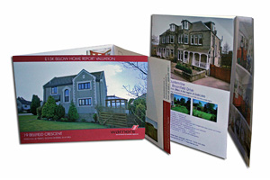 A4 6pp Property Brochures