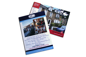 A4 2pp Property Brochures