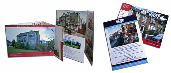 Printed Property brochures