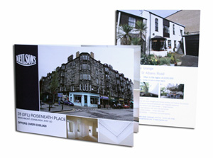 A5 4pp Property Brochures